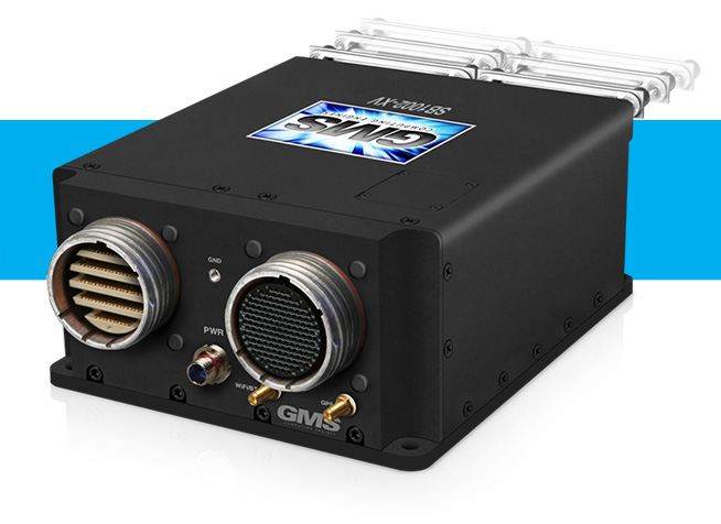 "GMS ""PEACOCK"" SB1002-XV Military Rugged, Small, Extreme Video System with Removable Drive(s)"