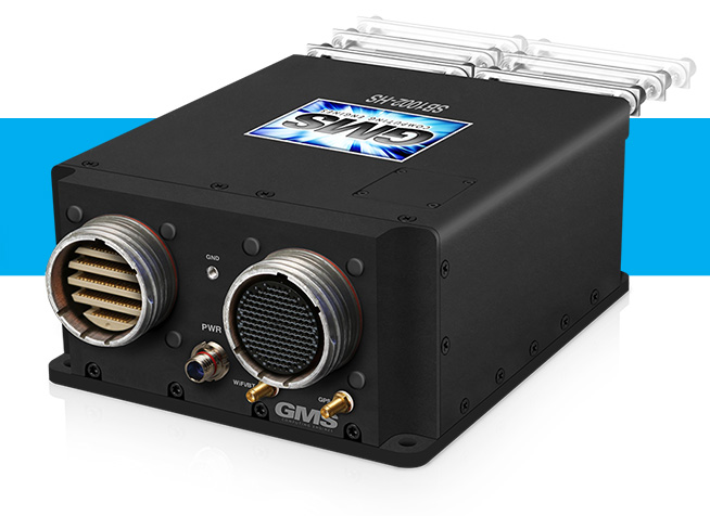 "GMS ""OSPREY"" SB1002-HS Military Rugged, Small, High-Speed I/O System with Removable Drive(s)"