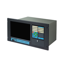 "Advantech AWS-8129H 12.1"" SVGA LED Backlight LCD Industrial Workstation with 9 Slots, Passive Backplane and Membrane Keypad"