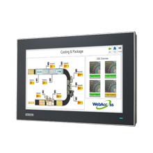 "Advantech FPM-7151W 15.6"" Industrial Monitor with Projected Capacitive Touchscreen, Direct-VGA/DVI or VGA/HDMI ports"