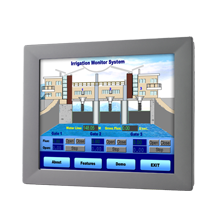 "Advantech FPM-2150G 15"" XGA Industrial Monitor with Resistive Touchscreen and Direct-VGA Port"