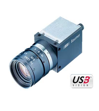 Baumer CX series 12 megapixel global shutter CMOS camera