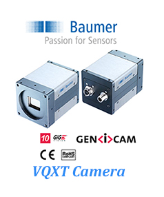 Product Release Baumer VQXT Camera 12 MP 10 GigE 335fps