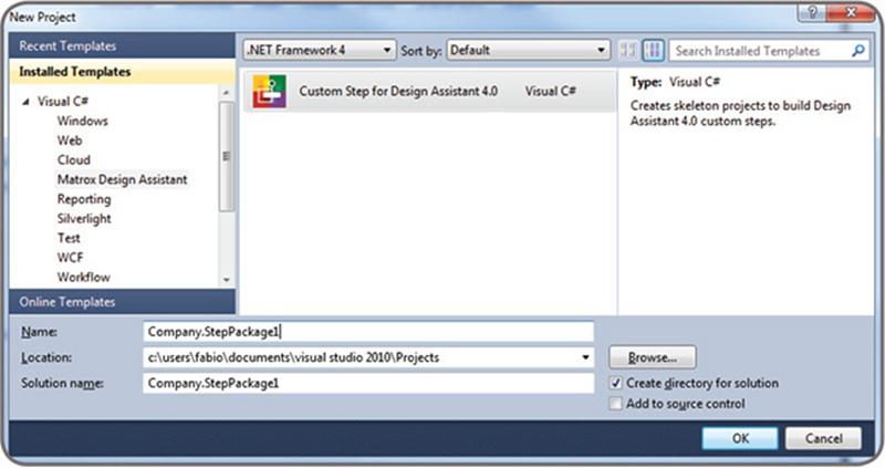 Matrox Design Assistant X Integrated Development Environment