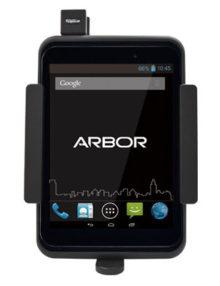 Arbor Gladius 8 w-Pogo Fully Rugged Vehicle Mount Tablet