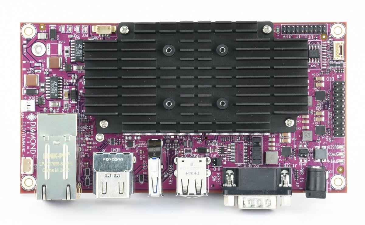 Diamond Systems FLOYD Carrier for NVIDIA Jetson Nano & Xavier NX