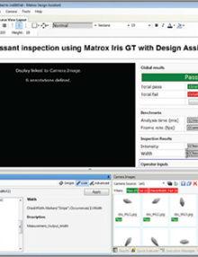 Matrox Design Assistant 4.0 Flow chart rapid development environment