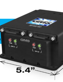"GMS ""GOLDEN-EYES"" SB1002-MD Military Rugged, Small, Dual, Fully Isolated Systems with Removable Drives"