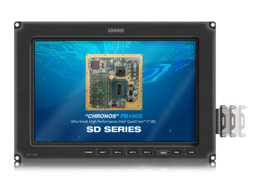 GMS SD12W Rugged, Standard Definition Smart Display with Removable Drive