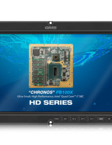 GMS HD17W Rugged, High Definition Smart Display with Removable Drive