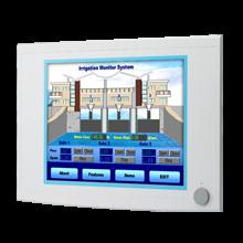 "Advantech FPM-5171G 17"" SXGA Industrial Monitors with Resistive Touchscreens, Direct-VGA, and DVI Ports"