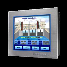 "Advantech FPM-3171S 17"" SXGA Industrial Monitor with Resistive Touchscreen, Direct-VGA and DVI Ports"