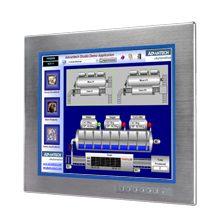 "Advantech FPM-3191S 19""SXGA Industrial Monitor with Resistive Touchscreen, Direct-VGA and DVI Ports"